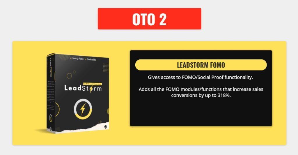 Leadstorm OTO 2