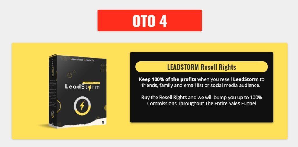 Leadstorm OTO 4