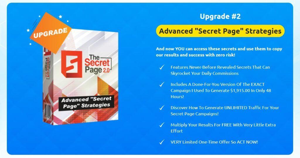 Secret Page Upgrade 2