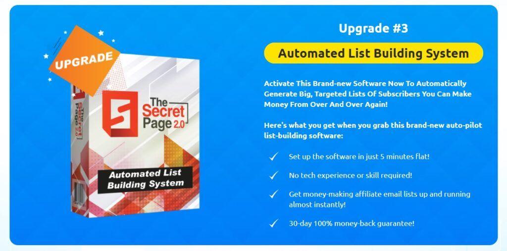 Secret Page Upgrade 3