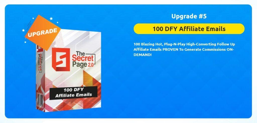 Secret Page Upgrade 5